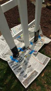 Spray Paint Anchors
