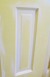 Painting a semi gloss door