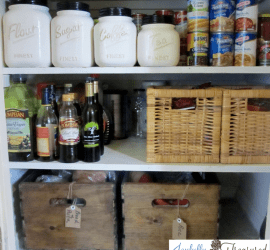 Use crates and bins in the pantry