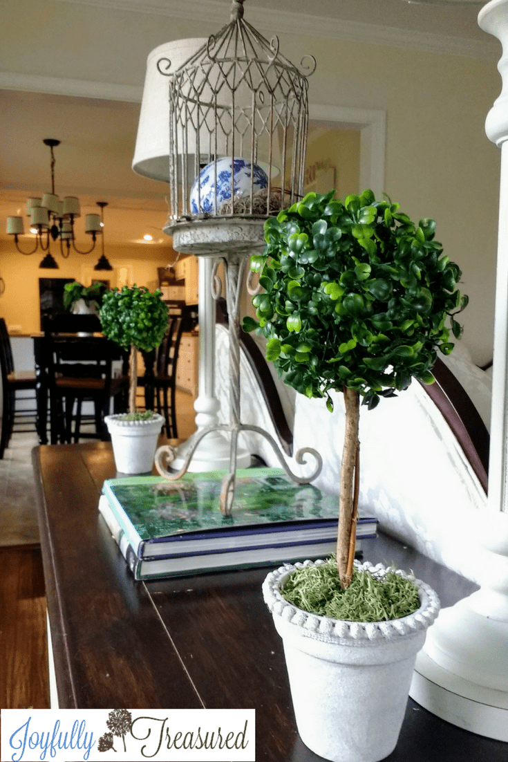 Simple Room Paint Designs: Faux Boxwood Topiary DIY, Ballard Inspired Small Boxwood