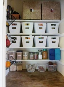 Creating an Organized Pantry