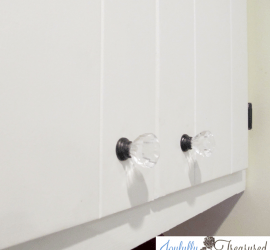 Painted Kitchen knobs