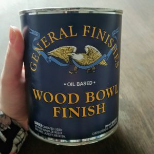 Use wood bowl finish on butcher block