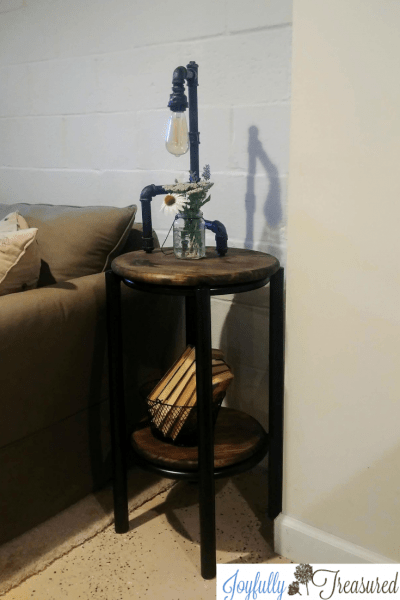 How to Paint Metal Furniture, A Table Upcycle for the Basement