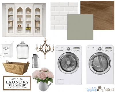 Welcome to Our (Tiny) Laundry Room, $100 Room Challenge