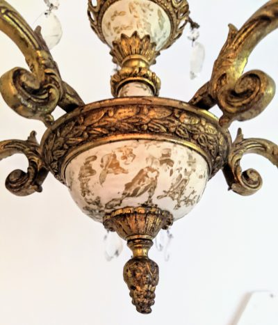 How to Clean an Antique Brass Chandelier and Remove Tarnish