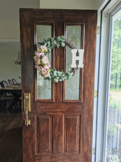 How to Stain a Steel Door to Look Like Wood
