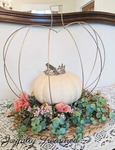 Dollar Tree Fall Decor DIY, Cinderella's Pumpkin!
